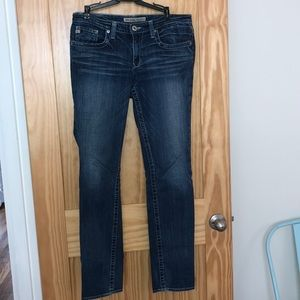 Big Star Maddie skinny jeans, mid rise, size 29